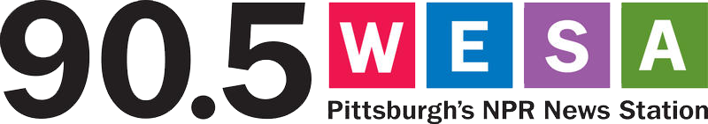 90.5 WESA, Pittsburgh's NPR News Station logotype